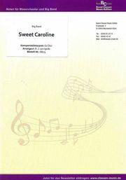 Noten - Sweet Caroline für Big