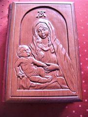 Bibel-Rarität mit Holzeinband Albrecht-Dürer-Motiv