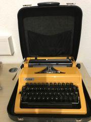 Schreibmaschine ERIKA 105 Bj 1981