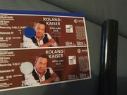 2 Top Tickets Roland Kaiser