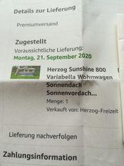 HERZOG Sonnendach
