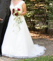 Brautkleid Ivory Größe 46 48