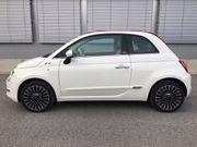 Neuwertiger Fiat 500 Cabrio Lounge
