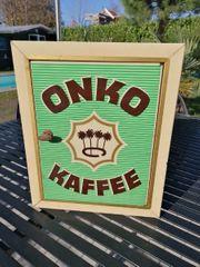 Kaffeeschrank Blechschrank Blechdose Onko Kaffee