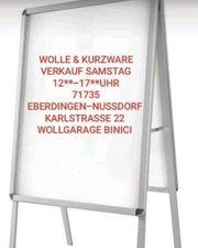 Wolle Kurzware verkauf Samstag