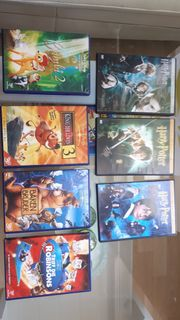 3 Harry Potter doppel-dvds 4
