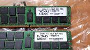 2x DDR4 2133 Speicher RAM - Arbeitsspeicher