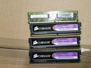 ARBEITSSPEICHER 4GB 4x1GB CORSAIR XMS2 XTREME