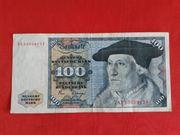 100 DM Schein 100 ECHT