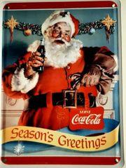 Blechschild 8x11cm Coca Cola Special