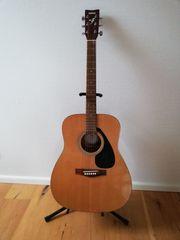 Gitarre Yamaha F310 mit eingebautem