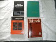 Fachbüchersortiment Spanende Fertigung Elektronik usw