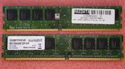 1x 1GB DDR2-RAM PC-5300-555
