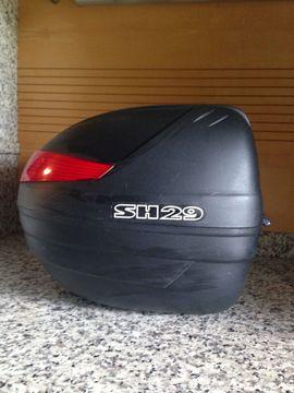 Motorrad-, Roller-Teile - Topcase Shad Gepäckträger Gepäckkoffer Helme