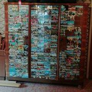 alten Schlafzimmerschrank zum restaurieren an