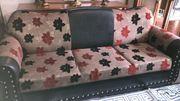 Sofa Couch Garnitur mit Sessel