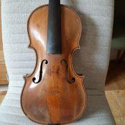 Sehr Alte Interessante Geige 44