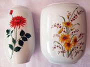 2 Vasen Porzellan