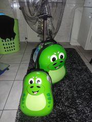 Neuer Trolley und Rucksack im