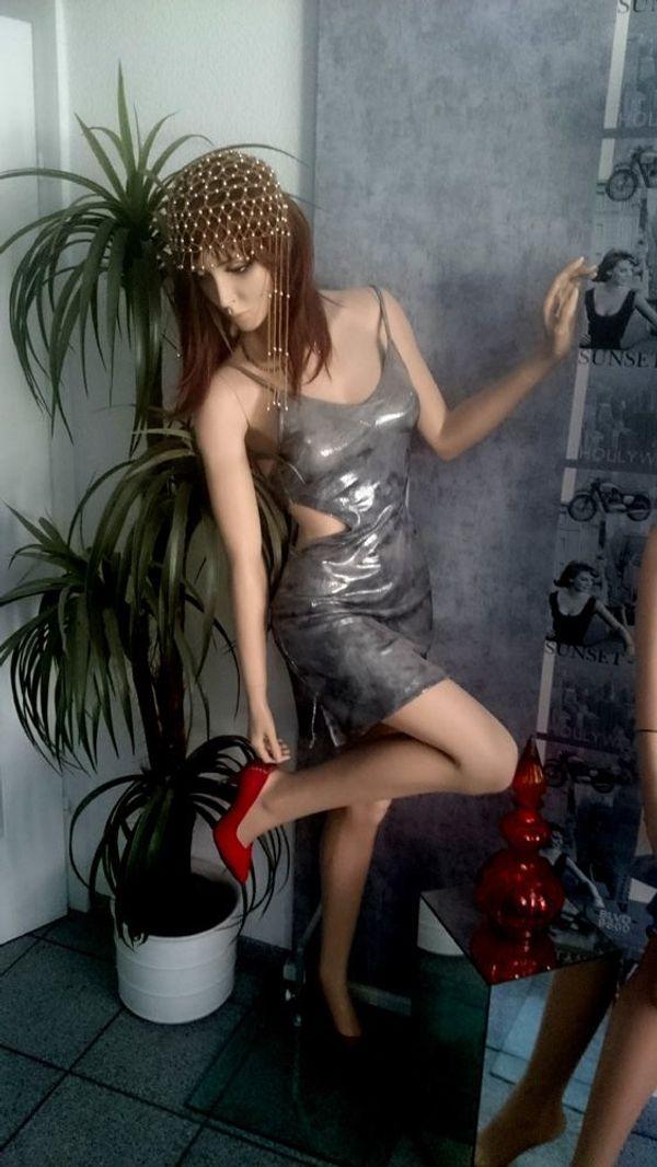 Sexy Schaufensterfigur weiblich