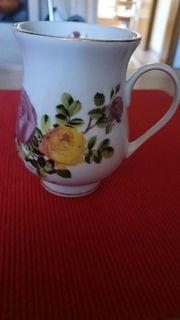 außergewöhnliche schöne Tasse Sammlerstück