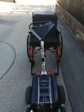 Rollstuhlzuggerät Minitrac: Kleinanzeigen aus Röckingen - Rubrik Medizinische Hilfsmittel, Rollstühle