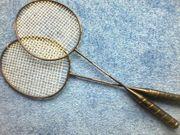 Schläger - Badminton - Federball - 2 er Set