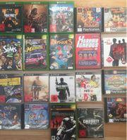 PlayStation Xbox Spiele