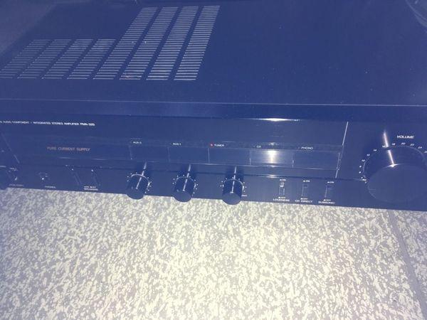 1988 Stereoverstärker Denon PMA 320