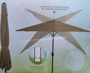 Gartenschirm Kurbelschirm Sonnenschirm Schirm Terassenschirm