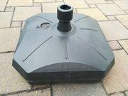 Sonnenschirmständer Kunststoff für Rohre 3-5