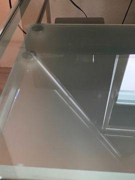 Computermöbel - PC Schreibtisch aus Glas