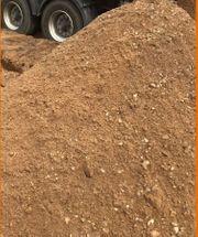 eferung Aushub Erdaushub Sand Auffüllmaterial