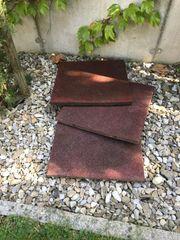 3 Fallschutzplatten Schutzmatten 50x50x4 cm