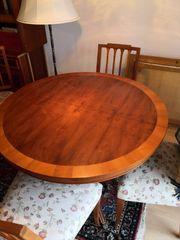 Kirschbaum Tischgruppe Biedermeier-Stil