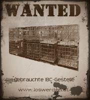 gebrauchte IBC Tanks gesucht