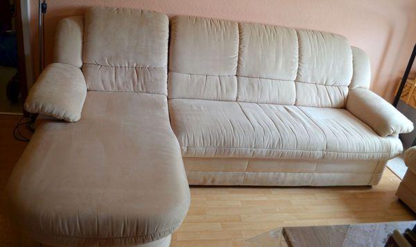 Couch Mit Ottomane Bettkastenschlaffunktion In Karlsruhe Polster