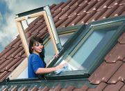 SKYFENSTER Dachfenster OPTILIGHTmit Eindeckrahmen Rollo