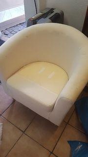 Ikea Sessel ohne bezug