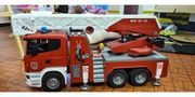Scania Feuerwehrauto Bruder