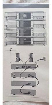 Grundig FineARTS Stereoanlage top Zustand