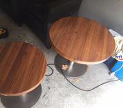Lounge Tische Massivholz und schwere