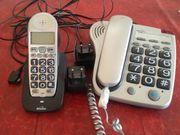 Binatone Großtastentelefon mit Mobilteil