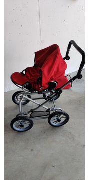 Puppenwagen Combi rot Marke BRIO