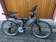 Mountainbike 26 Zoll Farbe schwarz
