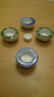 Schirnding Teelichter Porzellan Weihnachten