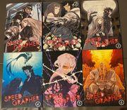 Speed Grapher Anime DVD Vol