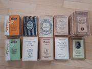Sammlung von Reclam Heften und