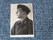 Soldatenfoto 2 WK Portrait altes
