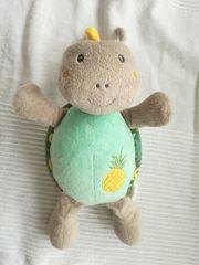 Spieluhr Schildkröte türkis grau Ananas